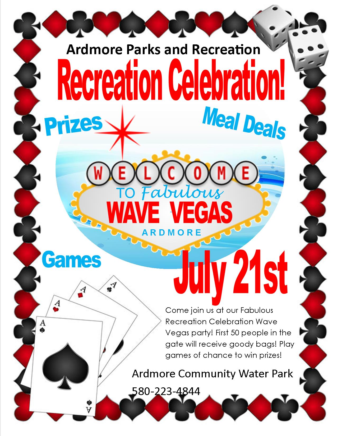 Recreation Celebration flyer2018