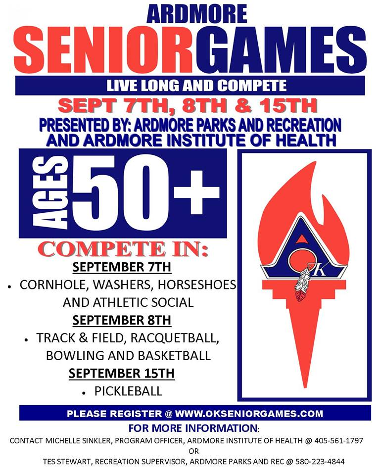 ardmore senior games