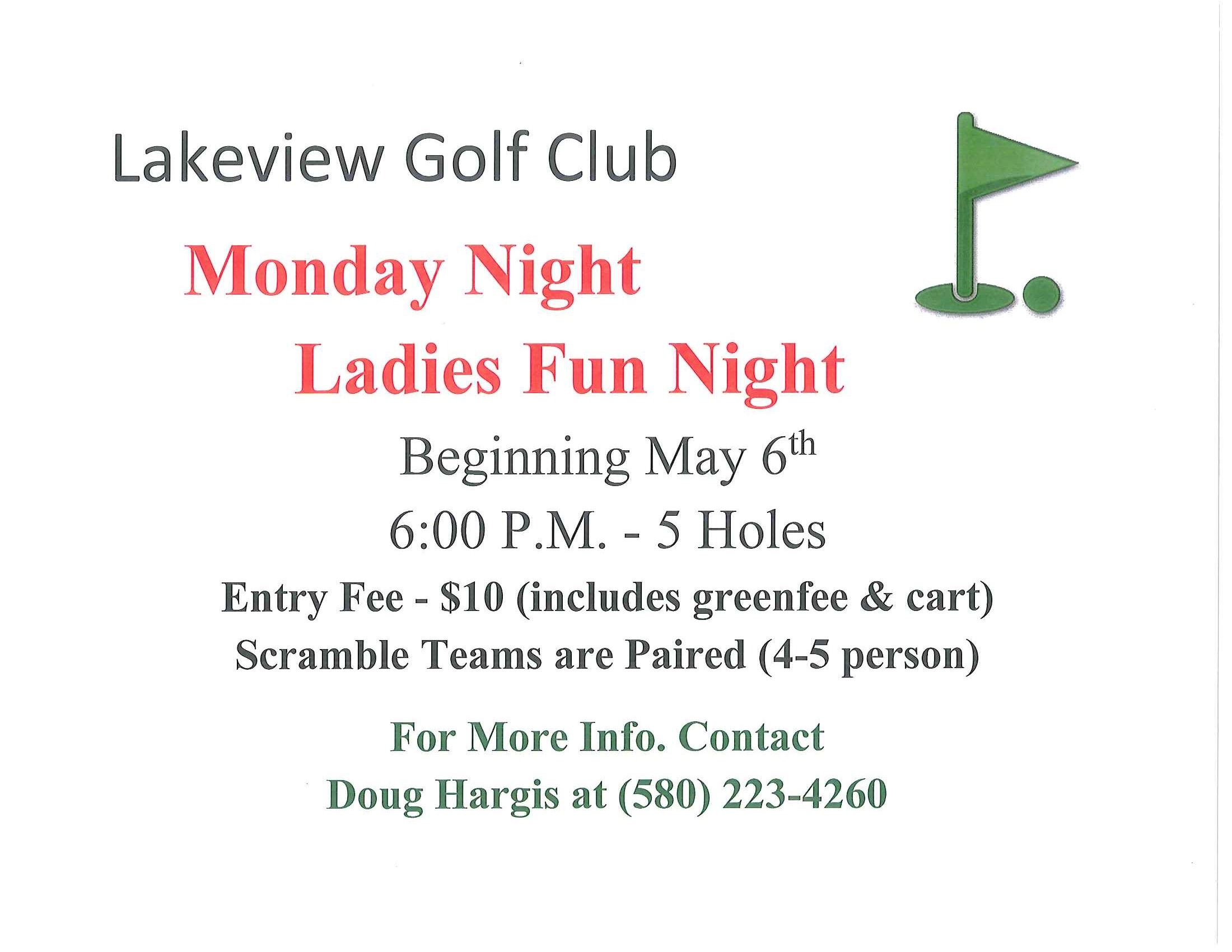 ladies night golf