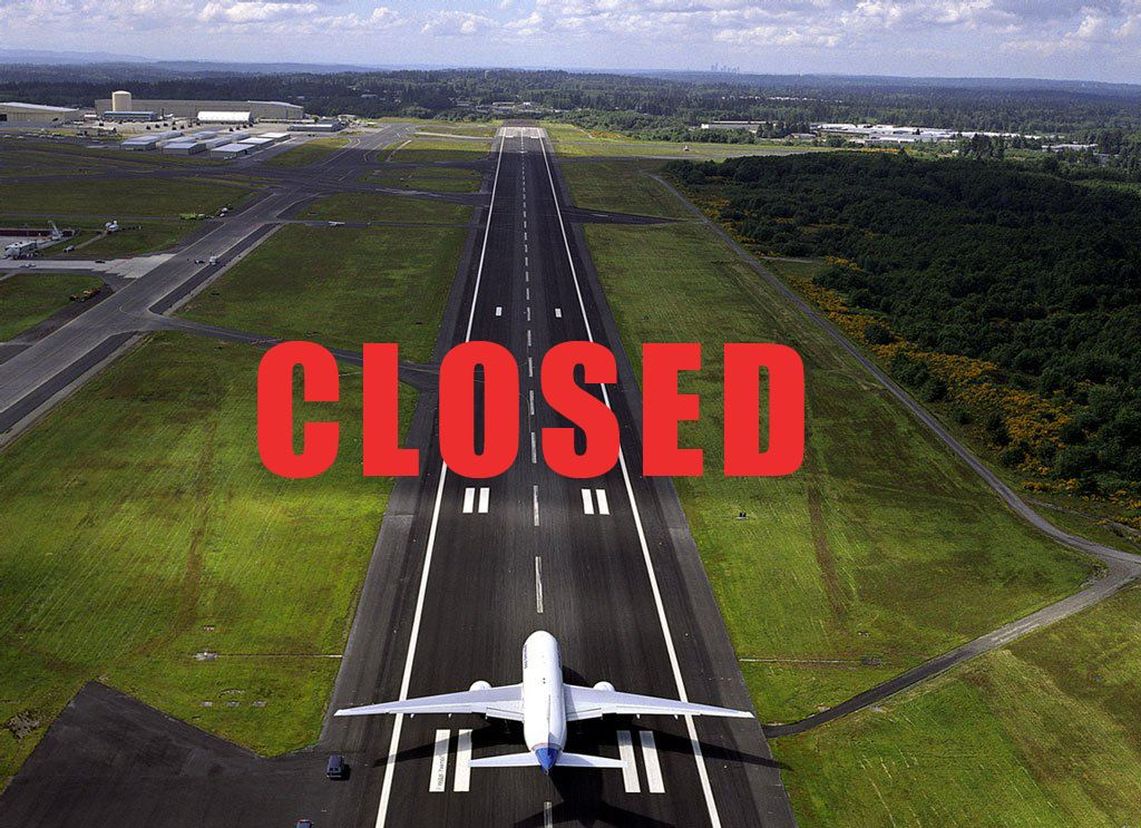 runway closure