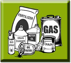 animated picture of hazardous waste materials